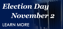 Election Day is November 2: learn more